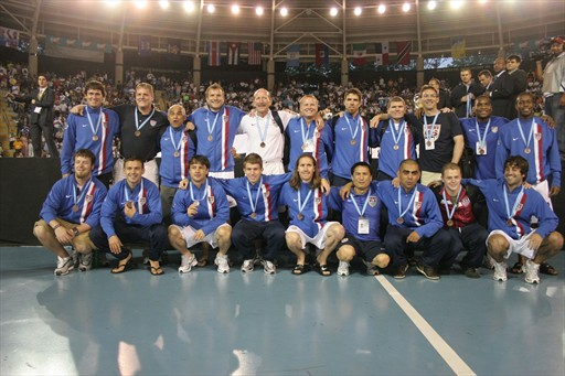 USA getting Bronze medal CONCACAF 2008